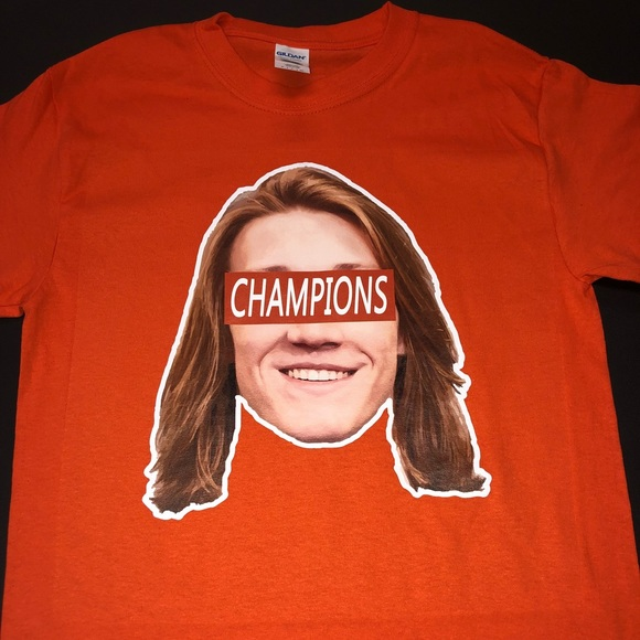 release date 78bbf eb0f8 Clemson Tigers Trevor Lawrence Shirt NWT